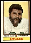 1974 Topps #216  Richard Harris  Front Thumbnail