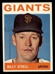 1964 Topps #18  Billy O'Dell  Front Thumbnail