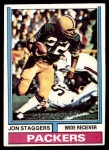 1974 Topps #162  Jon Staggers  Front Thumbnail