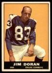 1961 Topps #23  Jim Doran  Front Thumbnail