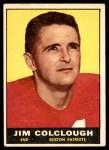 1961 Topps #174  Jim Colclough  Front Thumbnail