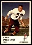 1961 Fleer #148  Eldon Danenhauer  Front Thumbnail
