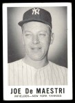 1960 Leaf #139  Joe DeMaestri  Front Thumbnail