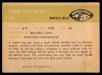 1961 Fleer #137  Tom Rychlec  Back Thumbnail