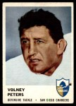 1961 Fleer #165  Volney Peters  Front Thumbnail