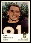 1961 Fleer #195  Alan Goldstein  Front Thumbnail