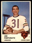 1961 Fleer #8  Joe Fortunato  Front Thumbnail