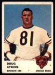 1961 Fleer #9  Doug Atkins  Front Thumbnail