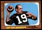 1966 Topps #109  Cotton Davidson  Front Thumbnail