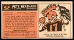 1965 Topps #90  Pete Beathard  Back Thumbnail