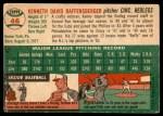 1954 Topps #46  Ken Raffensberger  Back Thumbnail