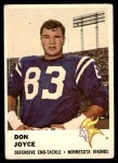 1961 Fleer #132  Don Joyce  Front Thumbnail