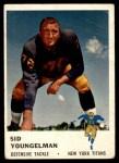 1961 Fleer #220  Sid Youngelman  Front Thumbnail