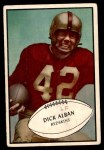 1953 Bowman #68  Dick Alban  Front Thumbnail