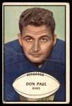 1953 Bowman #47  Don Paul  Front Thumbnail