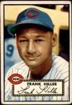 1952 Topps #156 CRM Frank Hiller  Front Thumbnail