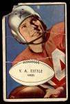 1953 Bowman #56  Y.A. Tittle  Front Thumbnail