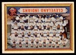 1957 Topps #275   Indians Team Front Thumbnail