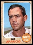 1968 Topps #310  Luis Aparicio  Front Thumbnail
