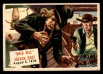 1954 Topps Scoop #122   Wild Bill Hickok Shot Front Thumbnail