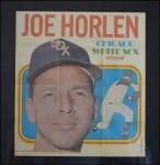1970 Topps Poster #1  Joe Horlen  Front Thumbnail