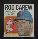 1970 Topps Poster #16  Rod Carew  Front Thumbnail