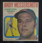 1970 Topps Poster #9  Andy Messersmith  Front Thumbnail