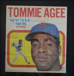 1970 Topps Poster #13  Tommie Agee  Front Thumbnail