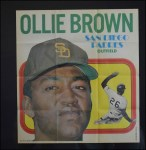 1970 Topps Poster #18  Ollie Brown  Front Thumbnail
