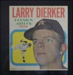 1970 Topps Poster #15  Larry Dierker  Front Thumbnail