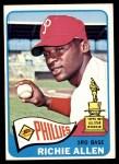 1965 Topps #460  Rich Allen  Front Thumbnail
