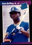 1989 Donruss #33  Ken Griffey Jr.  Front Thumbnail