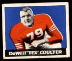 1948 Leaf #42  Tex Coulter  Front Thumbnail