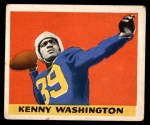 1948 Leaf #17 BN Kenny Washington  Front Thumbnail