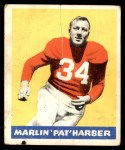 1948 Leaf #33  Pat Harder  Front Thumbnail