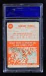 1963 Topps #131  Clendon Thomas  Back Thumbnail