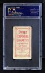 1909 T206 BLU Hal Chase  Back Thumbnail