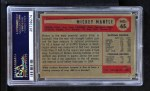 1954 Bowman #65  Mickey Mantle  Back Thumbnail