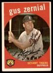 1959 Topps #409  Gus Zernial  Front Thumbnail