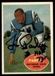 1960 Topps #5  Jim Parker  Front Thumbnail