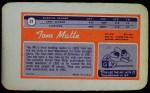 1970 Topps Super #21  Tom Matte     Back Thumbnail