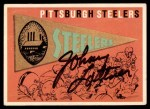 1959 Topps #9   Steelers Pennant Front Thumbnail