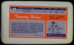 1970 Topps Super #29  Tommy Nobis  Back Thumbnail