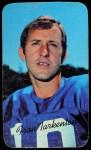 1970 Topps Super #1  Fran Tarkenton     Front Thumbnail