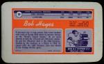 1970 Topps Super #30  Bob Hayes  Back Thumbnail