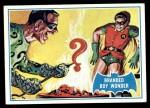 1966 Topps Batman Blue Bat Puzzle Back #4 PUZ  Branded Boy Wonder Front Thumbnail