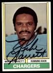 1974 Topps #437  Mike Garrett  Front Thumbnail