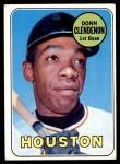 1969 Topps #208 HOU Donn Clendenon  Front Thumbnail