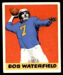 1948 Leaf #26 BN Bob Waterfield  Front Thumbnail