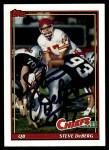 1991 Topps #137  Steve DeBerg  Front Thumbnail